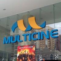 Photo taken at Multicine by Daniel L. on 8/26/2012