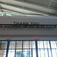 Photo taken at Fox River Mall by Zack F. on 7/9/2012
