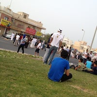 Photo taken at Duraz Roundabout by Ebrahim A. on 3/23/2012