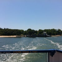 Photo taken at Shelter Island South Ferry - Shelter Island Terminal by Joshua on 6/3/2012