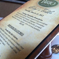 Photo taken at Brio Tuscan Grille by Scotty L. on 3/13/2012