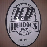 Photo taken at Hendoc's Pub by Westin B. on 4/14/2012