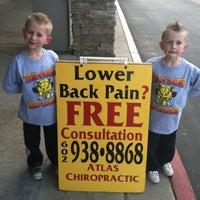 Photo taken at Atlas Chiropractic Center by Michael S. on 2/20/2012