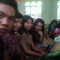 Photo taken at Gereja Toraja Badak Baru by Pormang S. on 2/5/2012
