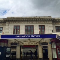 Photo taken at Farringdon London Underground Station by Nick R. on 7/18/2012
