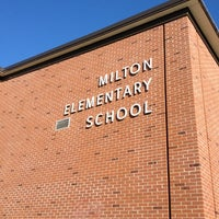 Photo taken at Milton Elementary School by Harjit on 6/18/2012