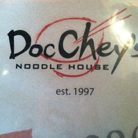 Photo taken at Doc Chey's Noodle House by Scheree R. on 4/26/2012