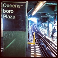 Photo taken at MTA Subway - Queensboro Plaza (N/W/7) by Jay J. on 4/8/2012