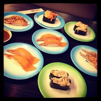 Photo taken at Heiroku Sushi by BoyT S. on 9/2/2012