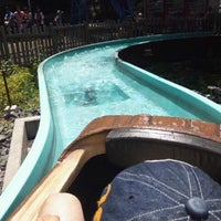 Photo taken at Mini Flume Ride by Kenta N. on 6/10/2012