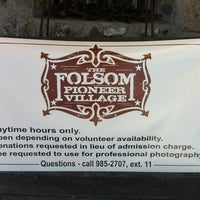 Photo taken at Folsom Pioneer Village by MarinVacation.com R. on 7/29/2012