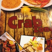 Photo taken at The Crab Zone by John H. on 2/11/2012