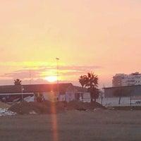Photo taken at Playa de La Misericordia by Juan F. R. on 3/29/2012
