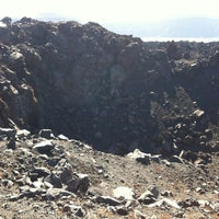 Photo taken at Volcano of Santorini by Larry B. on 8/30/2012