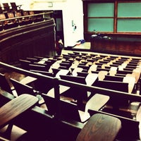 Photo taken at Havemeyer Hall - Columbia University by Eduard M. on 9/2/2012