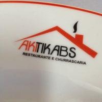 Photo taken at Akitikabs Restaurante e Churrascaria by Guto M. on 8/20/2012