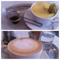 Photo taken at Mistral Café Restaurant by Martin J. on 5/3/2012