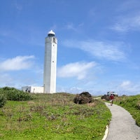 Photo taken at Hennasaki Lighthouse by hiroaki k. on 6/24/2012