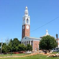 Photo taken at UVM Ira Allen Chapel by Harjit on 7/11/2012