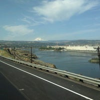 Photo taken at The Dalles Dam by Curt S. on 7/12/2012