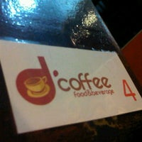 Photo taken at d'coffee by raino ananta s. on 3/8/2012
