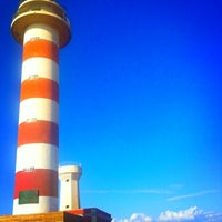 Photo taken at Tostón Lighthouse by Lorenz W. on 4/5/2012