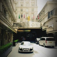 Photo taken at The Savoy Hotel by Nick T. on 6/23/2012