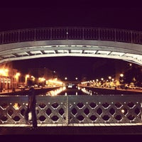Photo taken at Canal de l'Ourcq by Matthieu L. on 8/28/2012