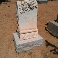 Photo taken at Kern River Valley Cemetery District by Julie J. on 6/26/2012