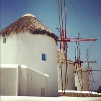 Photo taken at Mykonos Island by Andrew H. on 8/15/2012