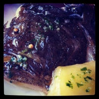 Photo taken at Restaurante Larruzz Bilbao by La Visita C. on 8/27/2012
