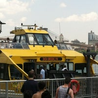 Photo taken at New York Water Taxi - Pier 11, Slip A by Jeremy M. on 7/1/2012