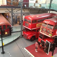 Photo taken at London Transport Museum by Amir N. on 7/8/2012