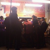Photo taken at Tacos don toño by Claudia Yadira O. on 8/25/2012