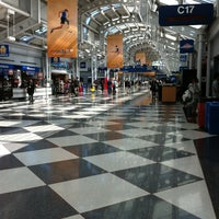 Photo taken at Concourse C by Joseph S. on 8/7/2012