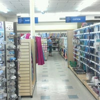 Photo taken at Hancock Fabrics by Siciley on 7/31/2012