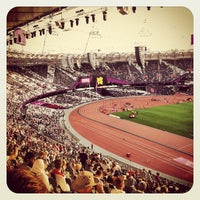Photo taken at London Stadium by Narek V. on 9/6/2012