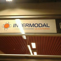 Photo taken at Estación Intermodal La Cisterna by Criss S. on 6/4/2012
