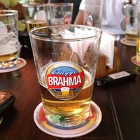 Photo taken at Quiosque Chopp Brahma by Beatriz Gonçalves on 9/7/2012