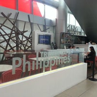 Photo taken at travel cafe philippines by Santi E. on 7/26/2012
