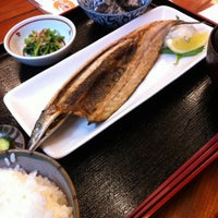 Photo taken at かがやき亭 by horie k. on 4/6/2012