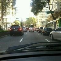 Photo taken at Avenida Ipiranga by Paulo César L. on 7/10/2012
