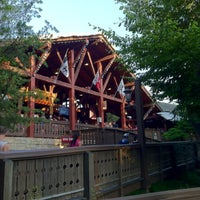 Photo taken at Alpengeist - Busch Gardens by Timothy S. on 6/24/2012