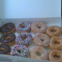Photo taken at Krispy Kreme Doughnuts by Franklin L. on 3/6/2012