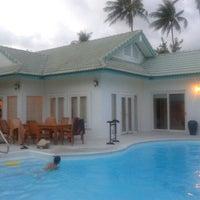 Photo taken at Samui Beach Village Hotel by Eunice C. on 3/14/2012