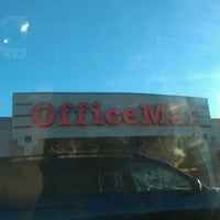 Photo taken at OfficeMax by Tyrone J. on 2/12/2012