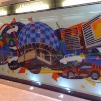 Photo taken at Metro Lingotto (M1) by Massimo . on 7/9/2012