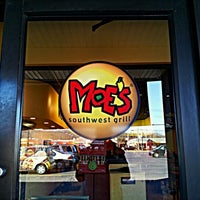 Photo taken at Moe's Southwest Grill by David A. on 2/6/2012