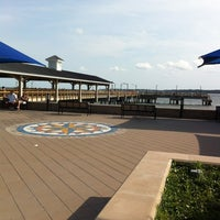 Photo taken at St. Simons Island Pier by Kelly C. on 5/12/2012