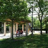 Photo taken at Mason Park Playground by Wendy T. on 6/15/2012